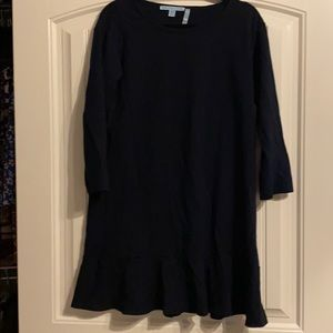 Draper James Cotton Flounce Hem Dress. Size M.